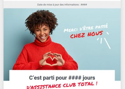 Total – Emailing Total Club